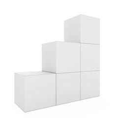 A few white boxes closed