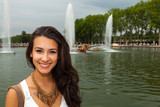 Beautiful Young Woman in Paris