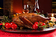 canvas print picture - holiday turkey