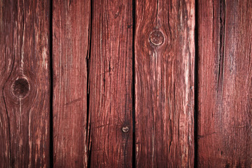 Old, cracked wood background