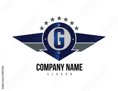 Letter G shield logo