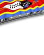 Designelement Flagge Swasiland