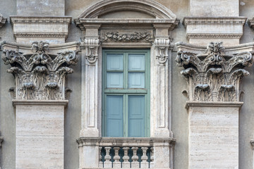 Roma, palazzo Poli (part.)