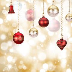 Christmas background, close-up.