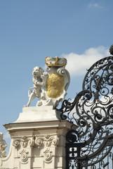 Lion on gates