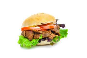 Kebab-burguer