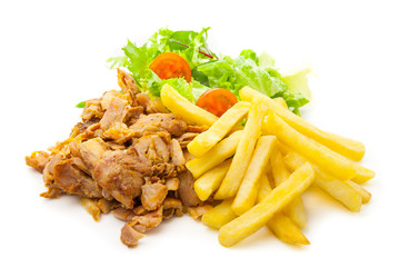 Kebab al plato 2