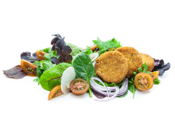 Ensalada de falafel