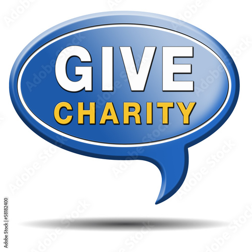 give charity