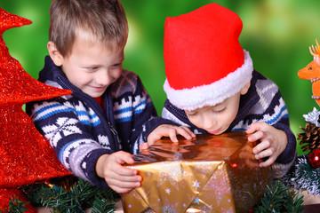 auf Weihnachten freuen