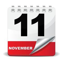 11 NOVEMBER ICON