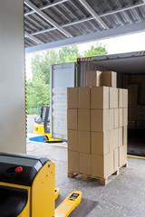 Loading in a warehouse