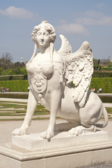 Grifon lady at  Belvedere palace