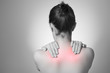 Woman with back pain - 58183859