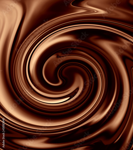 canvas print picture Chocolate background