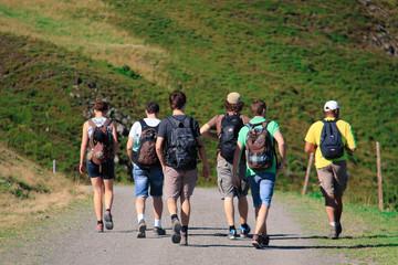 Wandern als Gruppe