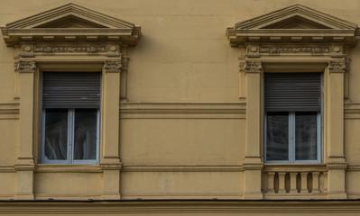 Roma, edificio antico, facciata