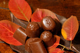 autumn chocolates