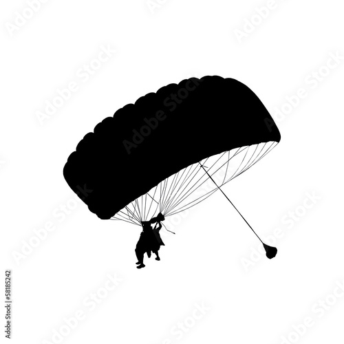 parachute jump in tandem with an instructor