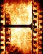 brown filmstrip