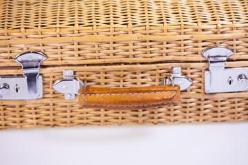braided suitcase