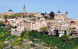 Aerial view of Medieval city Toledo, Spain