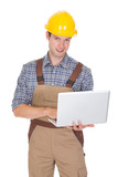 Architect Using Laptop