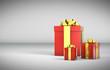 3D - Christmas Gift Boxes (XV)