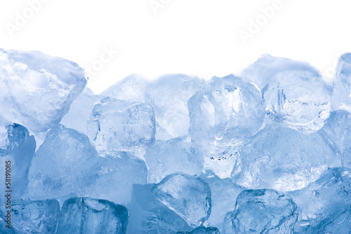 Close up of ice cubes - 58191085