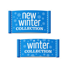 New winter collection clothing labels