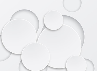 abstract background 3d circle