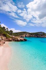 Cala Mitjaneta in Menorca Ciutadella at Balearics