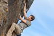 rock climbing outdoors