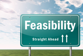 """Highway Signpost """"Feasibility"""""""