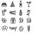 Celebration Party icons