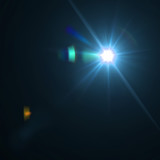 Vector lens flare effect eps8
