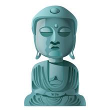 Stenen beeld van Boeddha