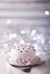 Small festive cake