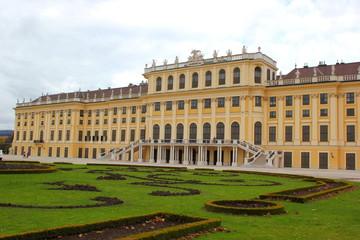 Außenansicht von Schloss Schönbrunn in Wien