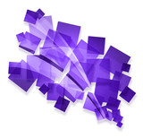 purple creative abstract