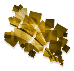 gold creative abstract