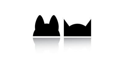 Chien et chat logo