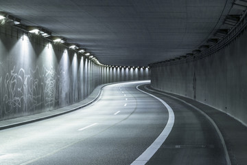 Modern Street Tunnel