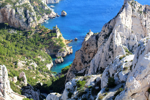 Marseille - Calanques de Sugiton (France)   - 58203098
