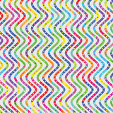 zig zag pattern with colorful stripes and dots
