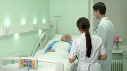Visiting patient