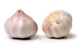 Garlic isolated on white background