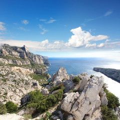 Marseille - Calanques de Sugiton (France)