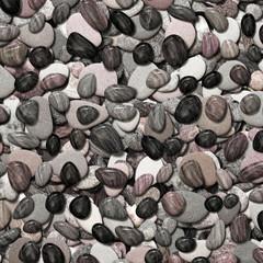 Runde Kieselsteine - Textur