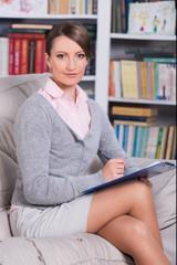 portrait of a successful psychologist